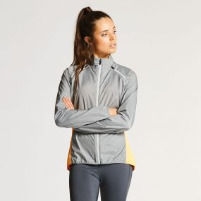 Dare2B Wms Unveil II Windshell Mid Grey