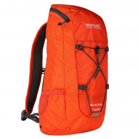 Regatta Blackfel Nano Junior Rucksack Amber Glow Ebony