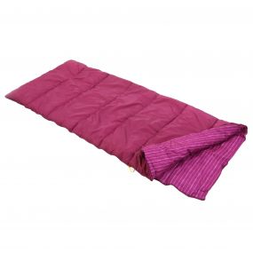 Regatta Maui Polyester Lined Single Sleeping Bag Azalia