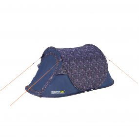 Malawi 2 Man Pop Up Print Tent Paisley
