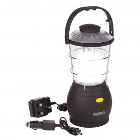 Regatta Helia 12 LED Dynamo Lantern Camping Lamp UK Black