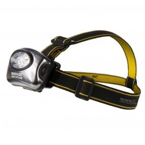 Regatta 5 LED Head Torch Black Seal Grey