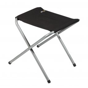 Marcos Stool Black Seal Grey