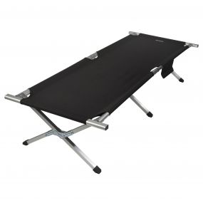 Renata Camp Bed Black Sealgr