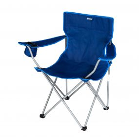 Regatta Isla Lightweight Folding Camping Festival Chair Laser Blue