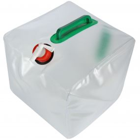 Regatta 23 Litre Foldable Water Carrier White