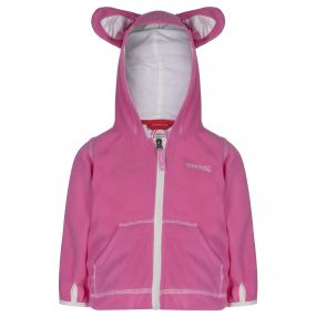 Regatta Kiddo Fleece Hoody Pretty Pink