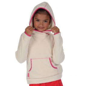 Regatta Girls Jafar Fleece Hoody Polar Bear