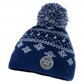 Regatta Kids Snowflake Hat Prussian