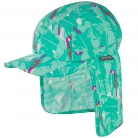Regatta Kids Protector Cap II Ice Green