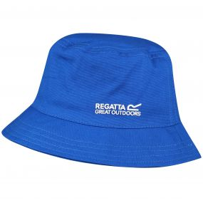 Regatta Crow Coolweave Cotton Canvas Hat SkyDiver Blue