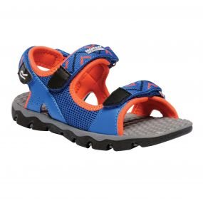 Regatta Kids Terrarock Sandals Skydiver Blue Amber