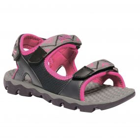 Regatta Kids Terrarock Sandals Iron Hot Pink