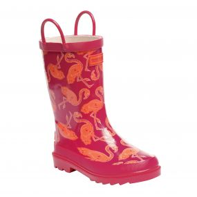 Kid's Minnow Junior Wellington Boots Duchess Satsuma