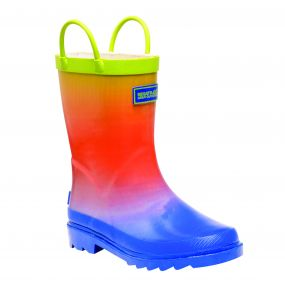 Regatta Kids Minnow Wellington Boots Boys Ombre