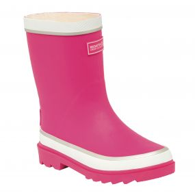 Regatta Foxfire Junior Wellington Boot Jem White