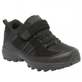 Regatta Trailspace II Low Junior Walking Shoe Black