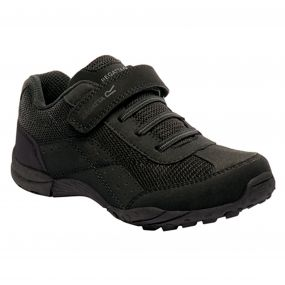 Regatta Stonegate Low Junior Shoe Black