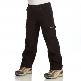 Regatta Softshell Trousers Black