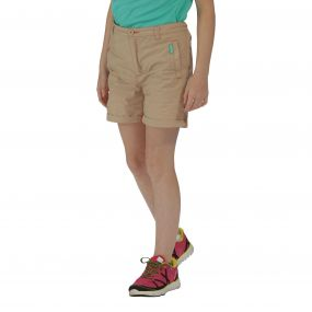 Regatta Girls Doddle II Shorts Moccasin