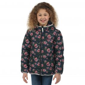 Regatta Coulby Jacket Navy Floral