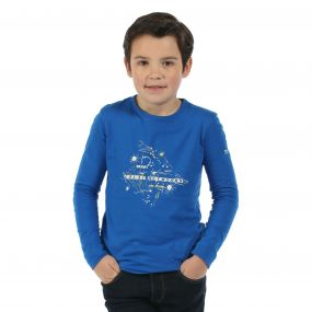 Regatta Wilder Long Sleeve T-Shirt Oxford Blue