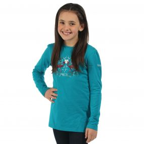 Regatta Wilder Long Sleeve T-Shirt Enamel