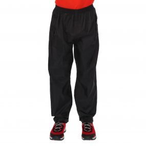 Regatta Kids Pack It Overtrousers Black