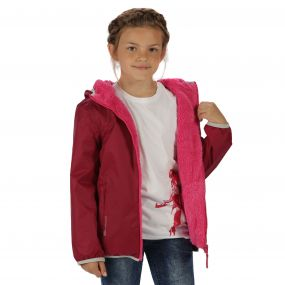 Regatta Lagoona Reversible Jacket Beetroot Jem