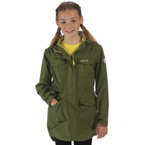 Regatta Girls Treasure II Parka CypressGreen