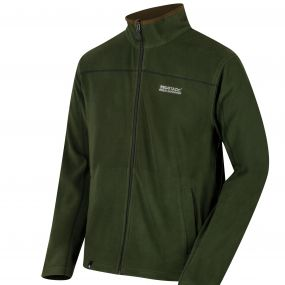 Regatta Fairview Mid Weight Full Zip Fleece Racing Green