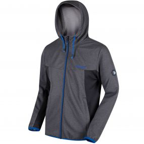 Regatta Tarnis Full Zip Hooded Fleece Seal Grey