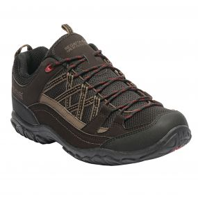 Edgepoint Low Walking Shoe Peat Chilli Pepper