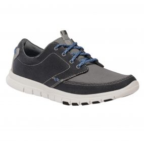 Regatta Men's Marine Lightweight Shoes Navy Rock Grey