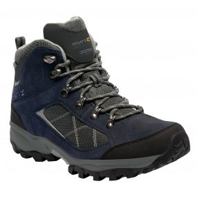 Regatta Clydebank Hiking Boot Navy Briar