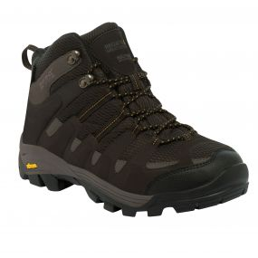 Regatta Burrell Hiking Boot Peat Treetop