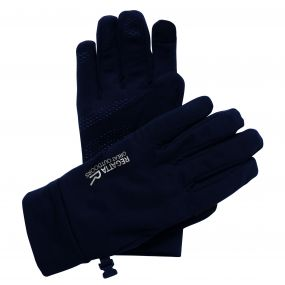 Regatta Men's Touchtip Stretch Softshell Gloves Black