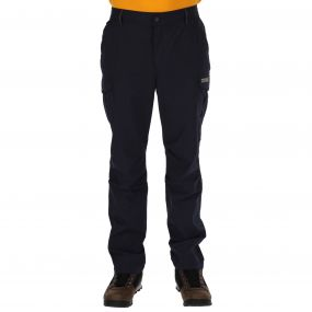 Regatta Mens Delph Trousers Navy