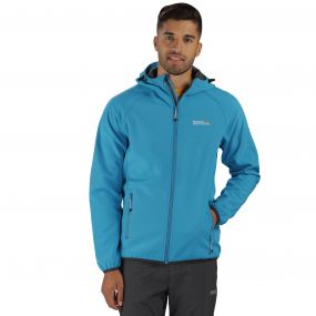 Regatta Arec Softshell Jacket Blue Seal Grey