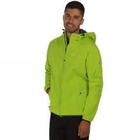 Regatta Arec Softshell Jacket Lime Seal Grey