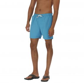 Regatta Mawson Swim Short Coastal Blue