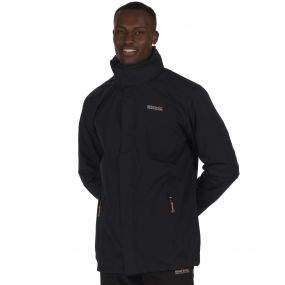 Regatta Telmar Waterproof 3-in-1 Jacket Black