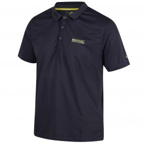 Regatta Maverik IV Polyester Polo Shirt Seal Grey