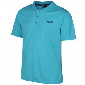 Regatta Maverik IV Polyester Polo Shirt Atoll Blue