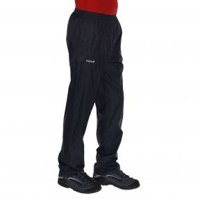 Regatta Men's Pack It Breathable Waterproof Overtrousers Navy