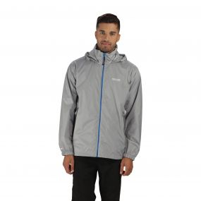 Regatta Lyle III Packaway Jacket Light Steel