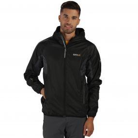 Regatta Levin Jacket Black Grey