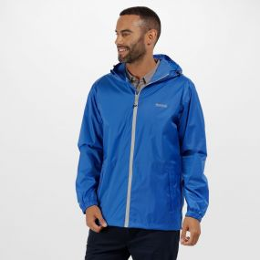 Regatta Pack It Jacket lll Waterproof Packaway Oxford Blue
