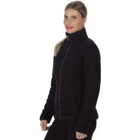 Regatta Raneisha Knit Effect Bonded Fleece Black