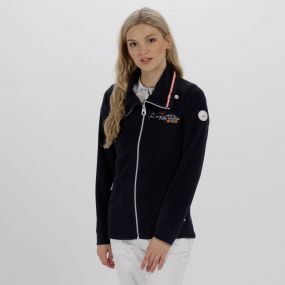 Regatta Darlene Lightweight Full Zip Fleece Navy